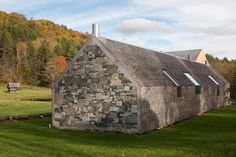 Rick Joy: Vermont House, truly one of my favorites, sliced bread layout