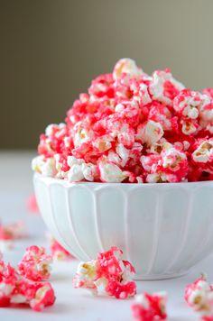 Hot Tamale Popcorn (recipe via thenovicechefblog.com)