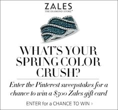 Enter here for a chance to win the perfect jewels for your chic spring look. http://sweeps.piqora.com/SpringColorCrush