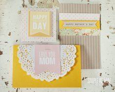 simple as that: Simple Mothers Day Card Ideas