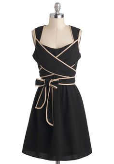 sweet wrap dress - loving the bow at the waist!