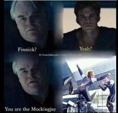 catching fire humor, hunger game, mockingjay finnick
