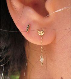 diamond arrow earrings jennie kwon