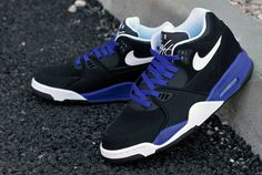 #Nike Air Flight '89 Black / Blue