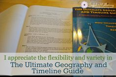 The Ultimate Geography and Timeline Guide offers variety and flexibility