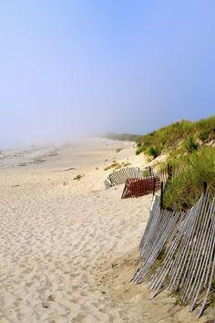 Beautiful New England beach