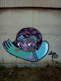#streetart #goddog  NeVa by - GoddoG -, via Flickr