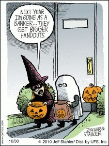 Halloween Jokes - Banker Jokes - Kids Jokes