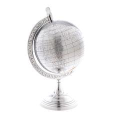 Color Plata - Silver!!! Globe