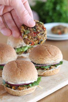 Veggie Burgers #vegan #vegetarian #patties #dinner #lunch