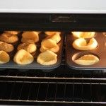 pancak muffinstyl, muffin tins, food, breakfast, bread