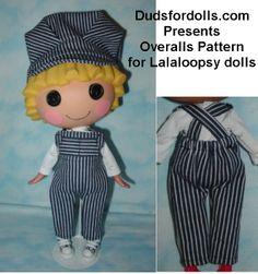 Doll Clothes Patterns Lalaloopsy BFC BJD My Twinn