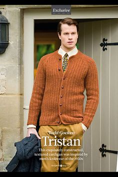 Ravelry: Tristan pattern by Todd Gocken