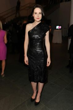 Michelle Dockery wearing Ralph Lauren Collection