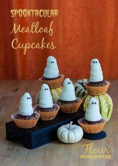 #Halloween Meatloaf Cupcakes | Flour Arrangements