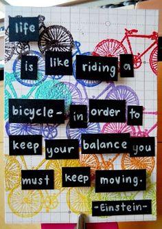 Keep moving