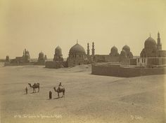 Cairo. Tombs of the Khalifs - A. D. White Architectural Photographs, Cornell University Library