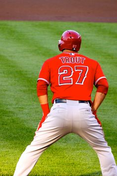 Mike Trout's ass..
