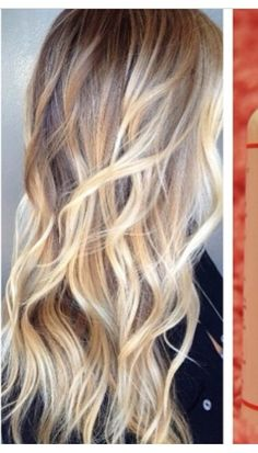 Blond ombre hair. Perfection.