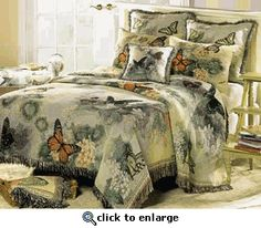 Butterfly Tapestry Home Décor Coverlet