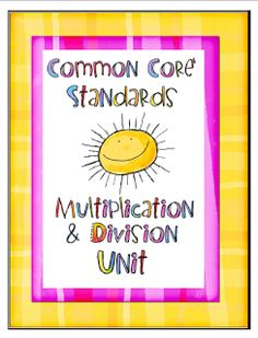 3rd grade multiplication and division
