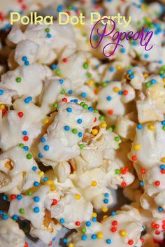 Harris Sisters GirlTalk: Polka Dot Party Popcorn