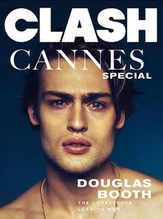 Douglas Booth is photographed by Christian Oita and styled by Matthew Josephs for Clash magazine