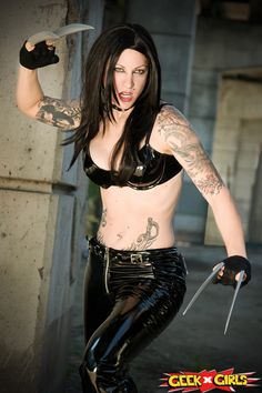 x 23 marvel cosplay  23 Cosplay nerd, x23 co...