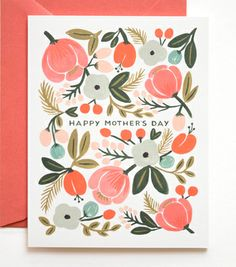 Mother's Day Card from Rifle Paper Co. Would be great colors for a wedding!  riflepaperco.com