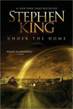 pinterest bookshelf, excel read, under the dome stephen king, summer read, definit read, current read, stephen king books