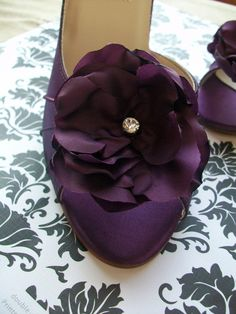 Plum Wedding Shoes @Sydney Standridge