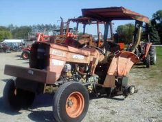 Kubota M7500 tractor salvaged for used parts. Call 877-530-4430 for the best used ag parts. http://www.TractorPartsASAP.com