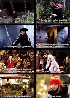 This is the story of Amelia Pond and this is how it ends