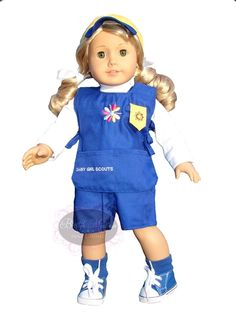 outfits, girl scout daisies, daisy girl scouts, girlscout, daisi outfit, daisi girl, ag dolls, daisi scout, american girls