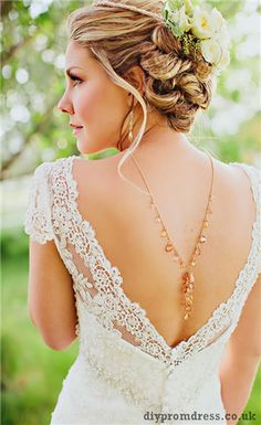 Love this back with necklace!