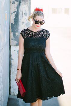 Lace DRESS: A.B.S. BY ALLEN SCHWARTZ LACE DRESS