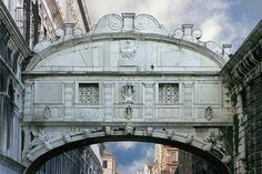 The Bridge of Sighs in Venice connects the old prisons to the doge's interrogation rooms. Legend has it that the small amount prisoners coul...