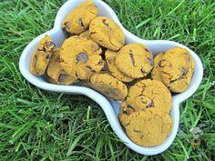 (wheat and gluten-free) carob cranberry pumpkin dog treat recipe
