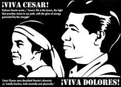 Dolores Huerta & Cesar Chavez