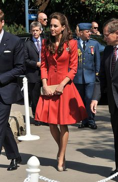 So cute! HRH on her final day in Canada.