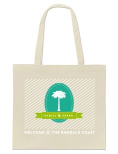 Love this tote for out-of-town guests