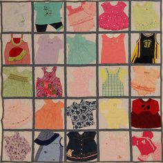 kid quilt, squar quilt, memori quilt, cloth quilt