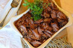'Bourbon & Brown Sugar Chuck Roast' ~~  Just bring a fork!