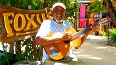 Foxy's Beach Bar, Jost Van Dyke, British Virgin Islands, #Caribbean #BeachBar
