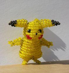 Artist Creates Mini 'Pokemon' Sculptures Using Tiny Beads - DesignTAXI.com
