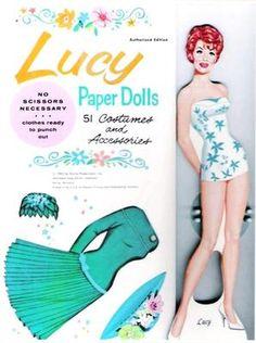 Lucy Paperdolls 1963