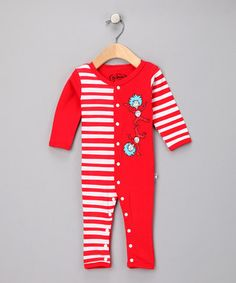 """""""thing 1"""" playsuit"""
