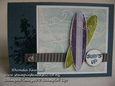 just surfing stampin up | Surf's Up: