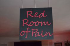 Red Room of Pain