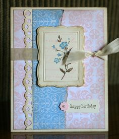 Stampin' Up!  Charming Birthday  Krystal's Cards and More